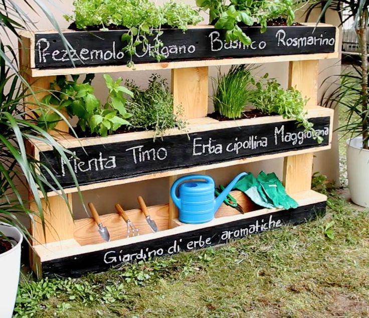 Questo semplice progetto vi mostrerà come attirare gli sguardi in modo unico sul vostro terrazzo o giardino.