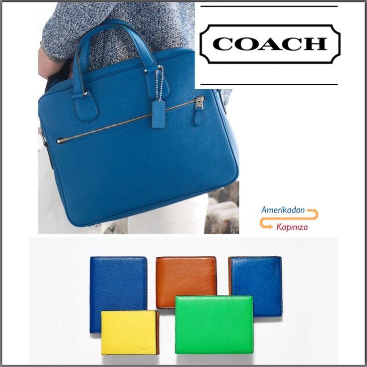 Tarz Sahibi Erkekler İçin En Şık Çanta ve Cüzdanlar Amerikadan Kapınızda.. #amerikadankapiniza #coach #çanta #cüzdan #bag
