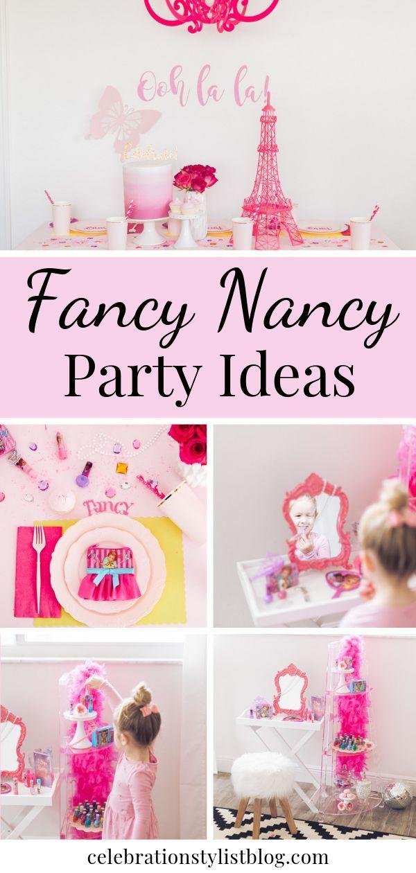 Fancy Nancy Party Ideas Fancy Birthday Party Fancy Nancy Party Fancy Nancy
