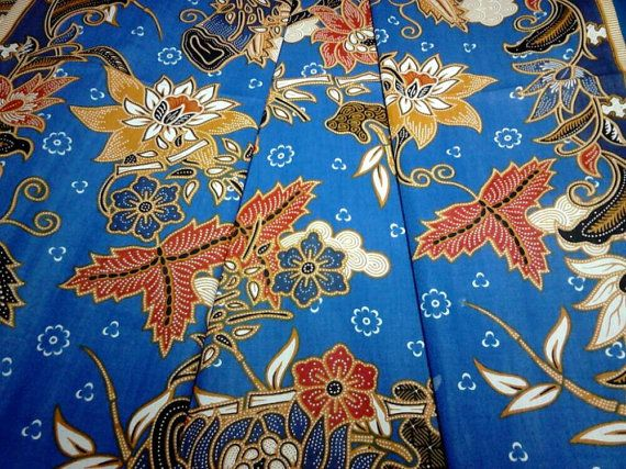 17 best images about etsy batik fabrics from malaysia