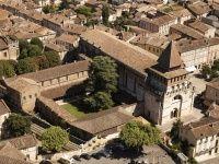 L'abbaye de Moissac (Tarn-et-Garonne).