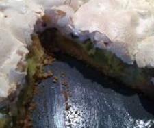 Rezept Rharbarberkuchen mit Baiser Haube von sandymix - Rezept der Kategorie Backen süß