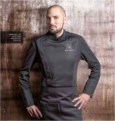 chaquetas para chef. Clement Design, modelo C-one. #chef #uniformes #chaquetas #filipinas.