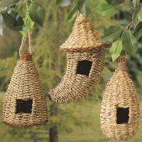 Set of 3 Nesting Pocket Birdhouses