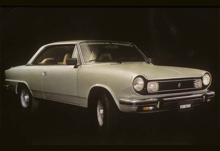 Torino - Es el auto argentino por excelencia. Fue presentado oficialmente el 30 de noviembre de 1966 con un estilo basado en un Rambler American norteamericano. Con la opinión de Juan Manuel Fangio y la habilidad y creatividad del carrocero italiano Pininfarina fue que se le dio forma a este vehículo que lograra aquella recordada hazaña en Las 84 Horas de Nürburgring. Entre 1970 y 1976 fue el auto más vendido de su segmento. Dejó de fabricarse a fines de 19