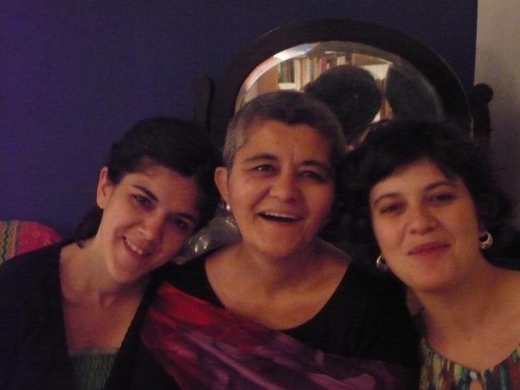 Con Tanit y Maria. 2010