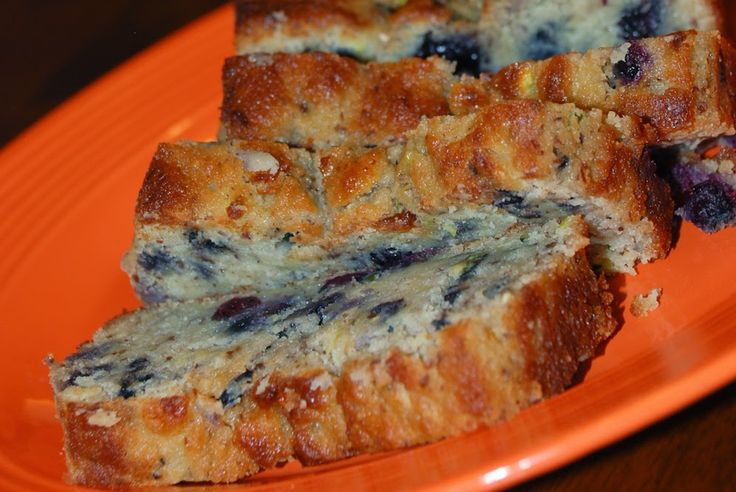 THM Blueberry Zucchini Bread! (S) Created by: Whatsoever is Pure