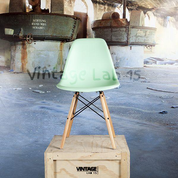 DSW style stoel mint Jouw stoel op jouw manier Stel ze samen zoals jij wilt, zodat ze passen bij jouw interieur en stijl        kussens      Specificaties  Diepte:39 cm Hoogte:83 cm Breedte: 46 cm Zithoogte:45