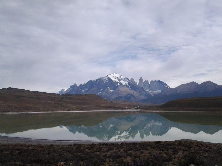 Paine mountains, from Laguna Amarga