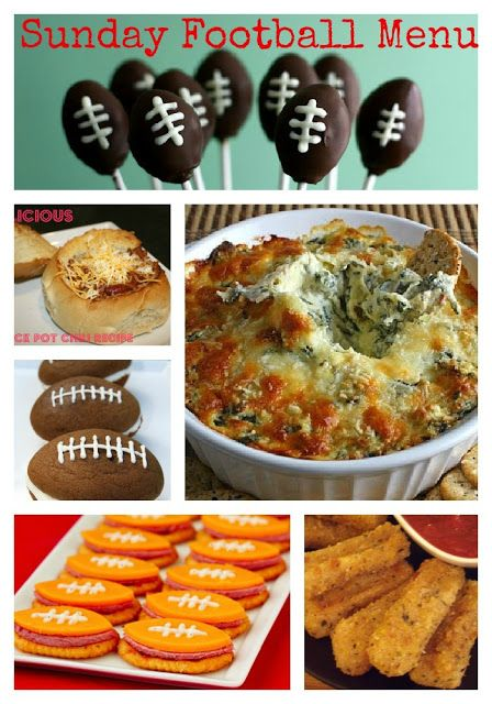 Throwback Thursday ~ Football Food