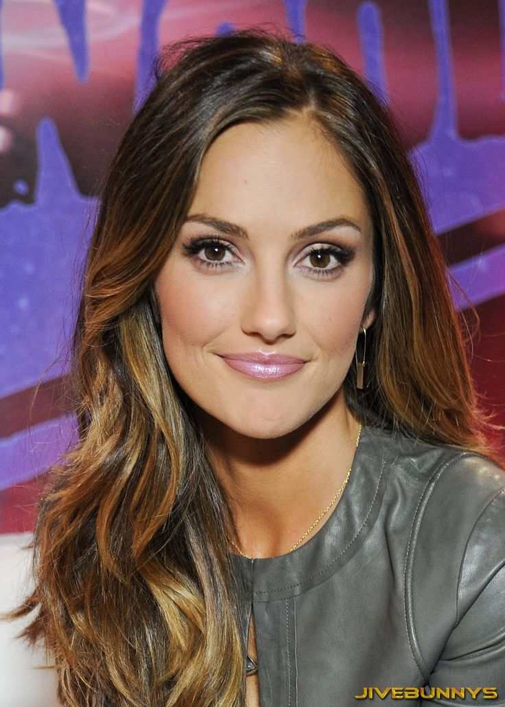 Minka Kelly- love her hair