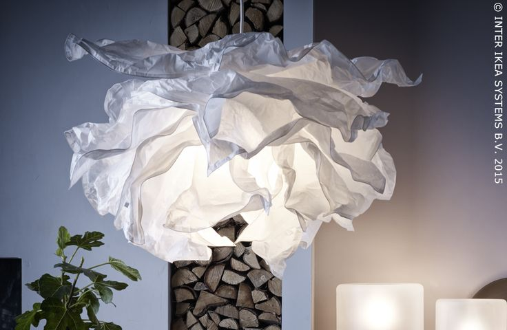 Krusning abat jour suspension blanc lamps products and catalog - Ikea abat jour suspension ...