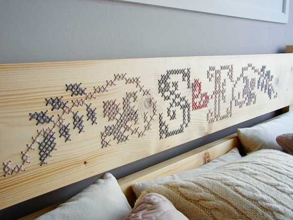 Stitched wood! So awesome. Google Image Result for http://www.decor4all.com/wp-content/uploads/2012/10/modern-furniture-decortion-ideas-cross-stitch-2.jpg