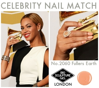 Celebrity Nail Match: #BioSculptureGel No.2060