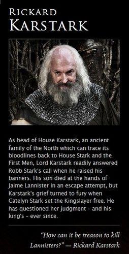 Rickard Karstark - game-of-thrones Photo