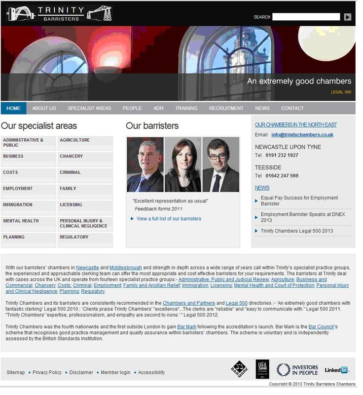 Trinity Barristers - Investors in People