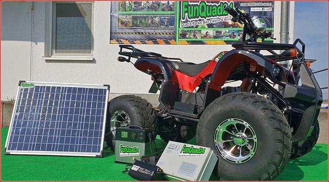Funquad24 Eco Elektro Quad Taifun Und Solar Energie Quad Atv Quad E Quad