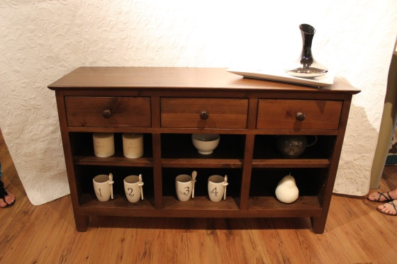 Urban Country 3 Drawer Console Buffett