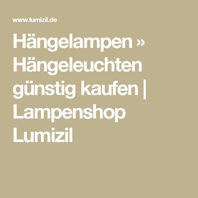 Hängelampen » Hängeleuchten günstig kaufen | Lampenshop Lumizil