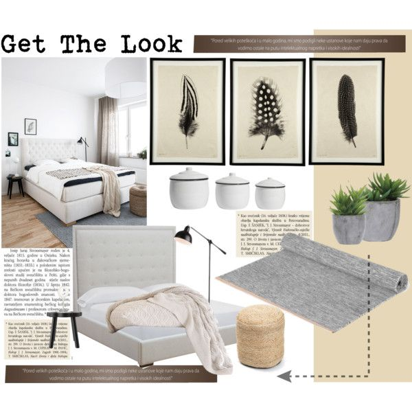 """Get The Look - Bedroom"" by veronikasinterior on Polyvore"