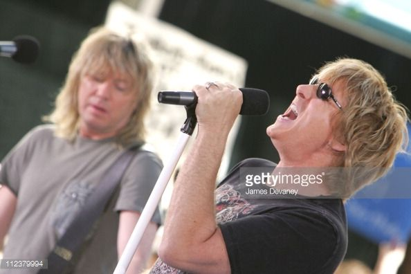 Def Leppard during Def Leppard Performs on the 2005 NBC's 'The Today Show' Summer Concert Series at NBC Studios Rockefeller Plaza in New York City...