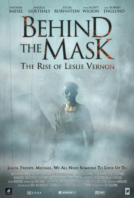 Behind The Mask the Rise of Leslie Vernon Movie Poster 27x40 Used Krissy Carlson, Zelda Rubinstein, Kate Lang Johnson, Robert Englund, Kane Hodder, Alex Revan, Scott Wilson, Angela Goethals