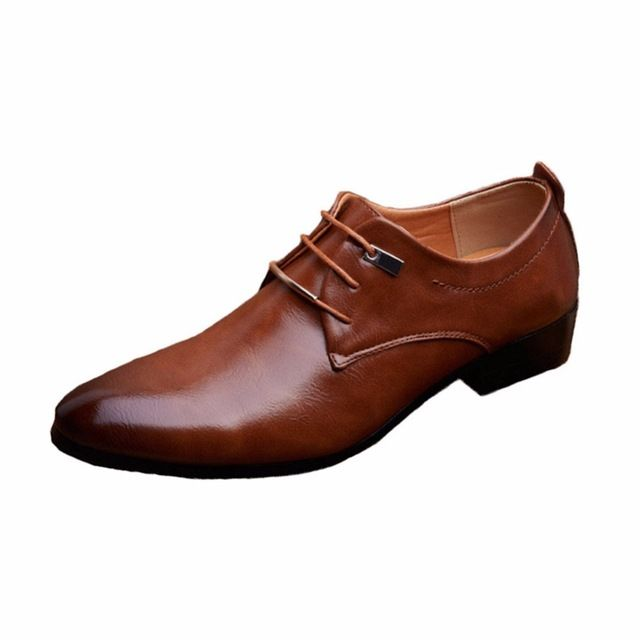 Special offer 2017 Designer Classic Men Dress Shoes PU Black Brown  Wingtip Italian Formal Oxfords Shoes Size 38-46 just only $26.79 - 33.45 with free shipping worldwide  #menshoes Plese click on picture to see our special price for you