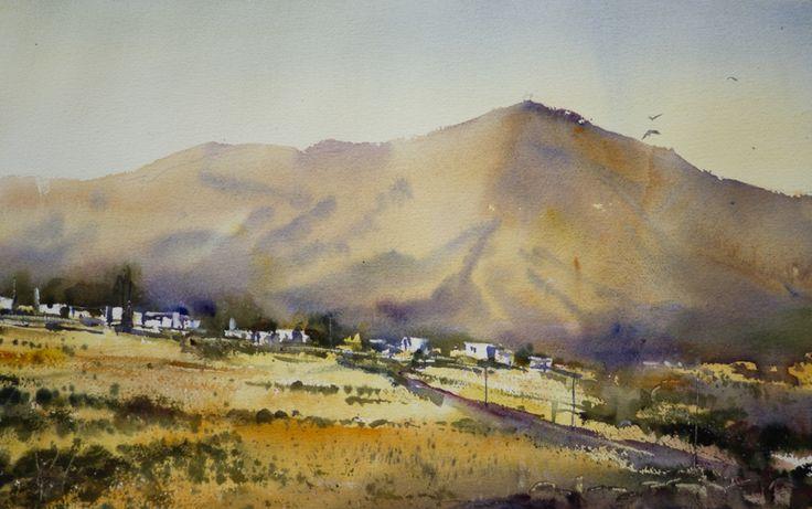 Aquarelles paysages - Aquarelle Marichalar Watercolor