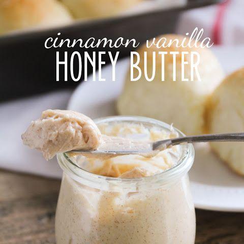 Cinnamon Vanilla Honey Butter