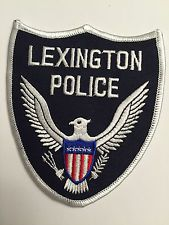 Lexington Tennessee Police Patch
