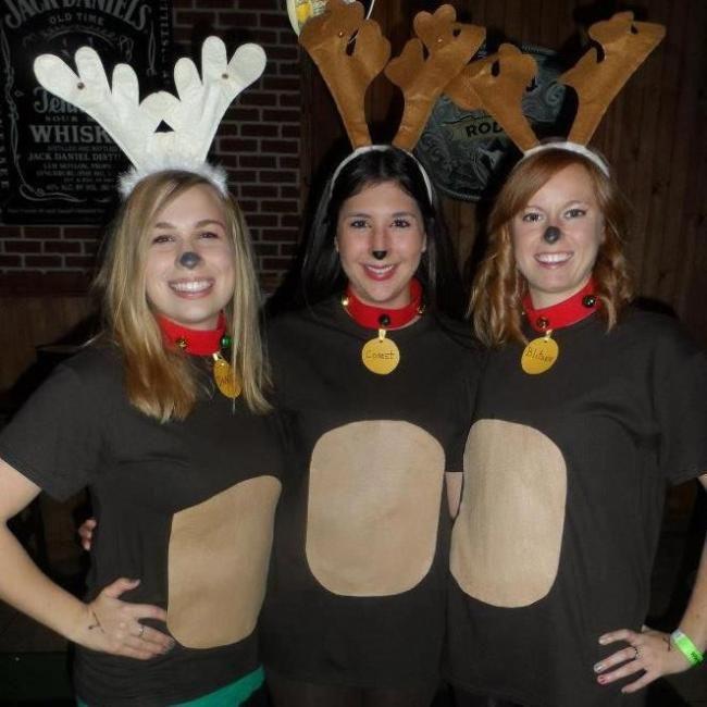 Homemade Reindeer Costume Ideas.