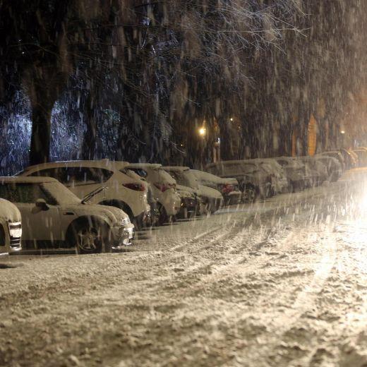 Maltempo: neve al Nord, bora a 150 km/h a Trieste, acqua alta a Venezia FOTO | Blitz quotidiano