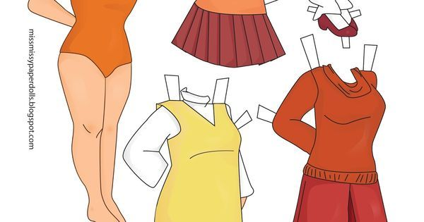 Scooby Doo Paper Dolls | scooby doo paper dolls | Miss Missy Paper Dolls | Things that caught ...