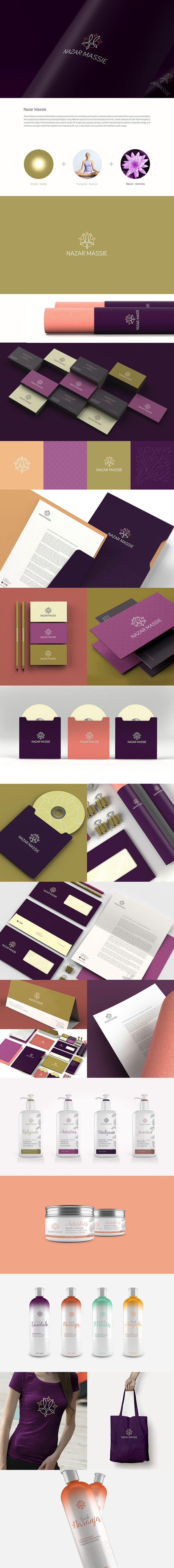 Branding. logo. identity, David Espinosa, Nazas Massie