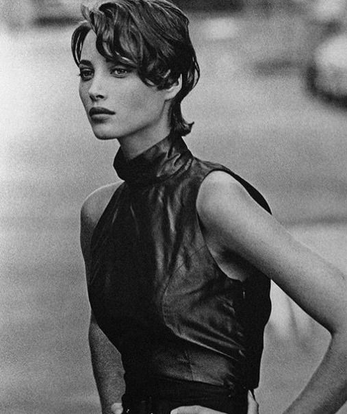 """Christy Turlington by Peter Lindbergh (1990) """