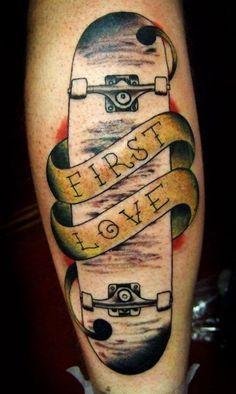Tattoo Ideas on Pinterest | Skateboard Tattoo, Skate Tattoo and ...