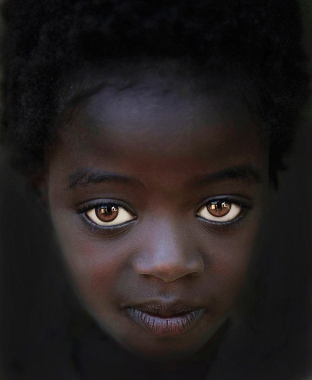 ~This beautiful little girl was photographed in Omo, Valley, Ethiopia by Dr. Steve Wallace ~