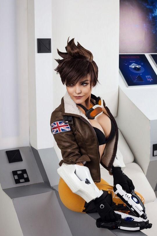 tracer cosplay nude