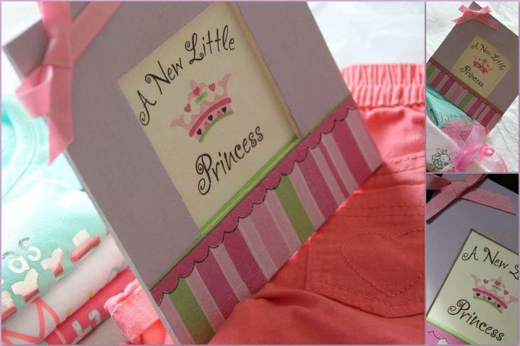 Frame #newborn #girl #decoupage #littleprincess