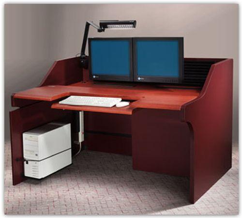 omni rack desk