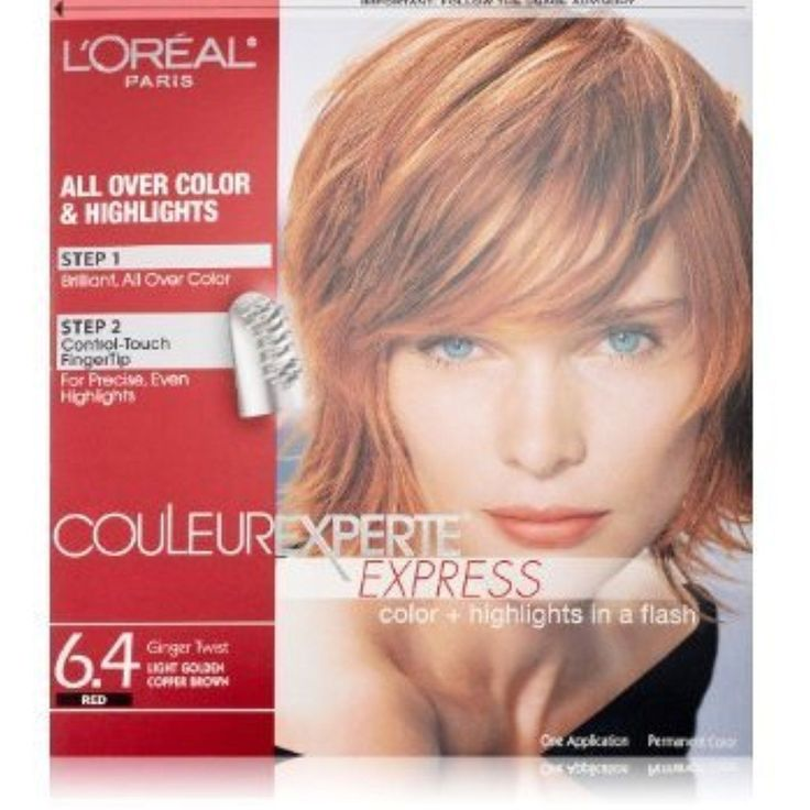 L Oreal Paris Couleur Experte Express Hair Color 6 4 Light Golden Copper Brown Ginger Twist By 47kr Red Blonde Hair Red Hair With Blonde Highlights Hair Color
