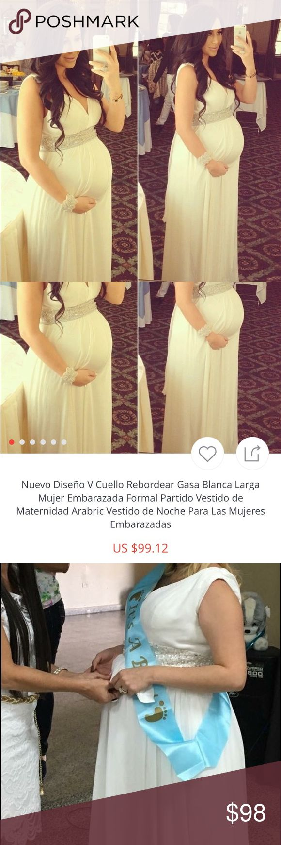 Only use it once This costume is beautiful only use it once in my baby shower is large to everything pregnant woman you have spectacular buy it and you will see that you will not regret Camilla Dresses High Low