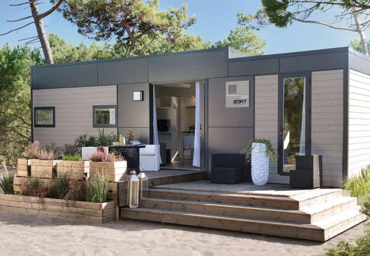 Oltre 25 fantastiche idee su case mobili su pinterest for Casette italia