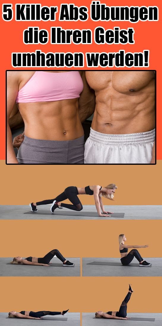 5 killer abs exercises that will blow your mind away
