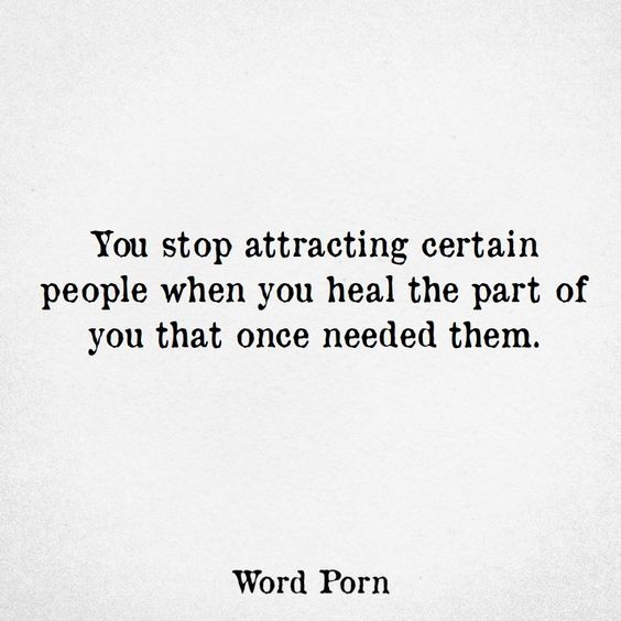 When you heal, you stop attracting certain people #toxicpeople M.E.