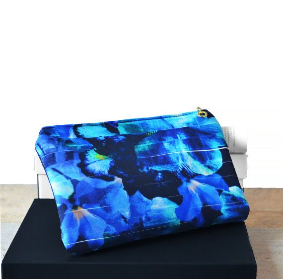 A Touch of the Blues by Pauline Wright on Etsy