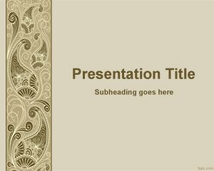 41 best floral powerpoint template images on pinterest ppt decorative powerpoint template is a free powerpoint template for decoration and decorate your presentations toneelgroepblik Image collections