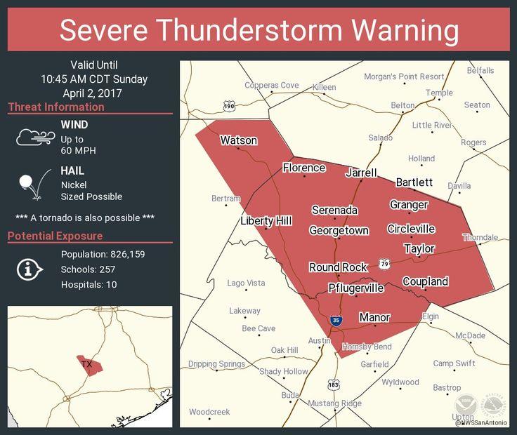 Severe Thunderstorm Warning including Round Rock TX, Cedar Park TX, Georgetown TX until 10:45 AM CDTpic.twitter.com/2sIcXdDcaw - https://blog.clairepeetz.com/severe-thunderstorm-warning-including-round-rock-tx-cedar-park-tx-georgetown-tx-until-1045-am-cdtpic-twitter-com2sicxddcaw/
