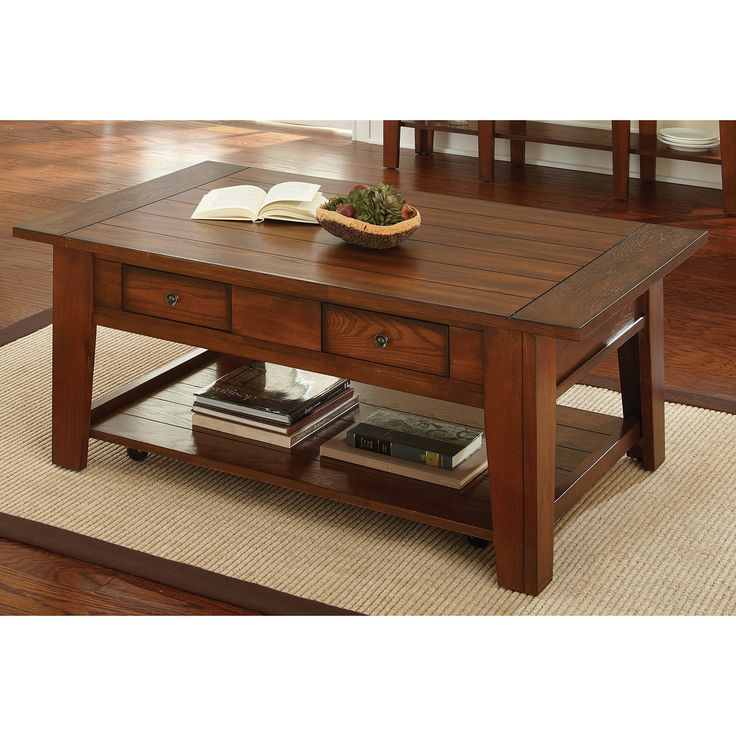 greyson living windham solid birch/ iron coffee table 2