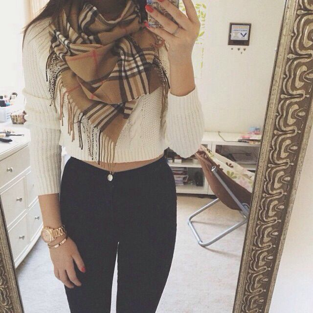 Love this simple look! So cute and wintery